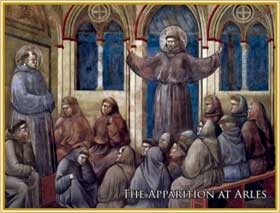 St. Francis of Assisi: Apparition